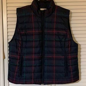 Like new/nwot Loft winter vest size XL